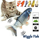 Electric Cat Toys Realistic Simulation Flopping Interactive Moving Wiggle Fish