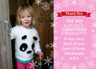 Personalised+Photo+Christmas+Thank+You+Cards+%2F+Notes+Inc+envelopes+Z62