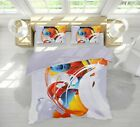 3D Colored Smoke ZHUA627 Bed Pillowcases Quilt Duvet Cover Set Queen King Zoe