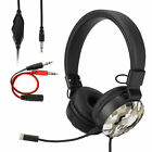 3.5mm Wired Gaming Headset Mic Adjustable Camo Headphone for PS5/PS4/PC/Xbox ONE