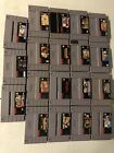 Super Nintendo Games YOU CHOOSE Snes Games Tested SAVE UP TO 20 Percent