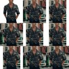 Stylish Luxury Casual Business Slim Fit Short Sleeve Formal Blouse New Fashion
