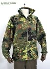 German Army Style Flecktarn Camo Fleece Jacket Thick Warm Full Zip Cold Weather