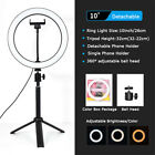 "10"" Selfie Ring Light with Tripod Stand and Phone Holder for Live Streaming"