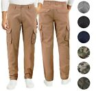 Внешний вид - Men's Cotton Tactical Work Trousers Multi Pocket Military Army Cargo Pants
