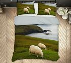 3D Scottish Sheep A041 Bed Pillowcases Quilt Duvet Cover Jerry LoFaro Zoe