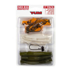 YUM Ned Rig 17-Piece Kit w/ YUM Ned Dingers, Ned Craws, Ned Minnow, & Jigheads