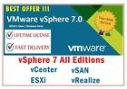 🔥VMware🔥 ✔ESXi/vSphere 7.0/vCenter 7.0/vSAN 7.0 ✔ Life Time ✔License picture