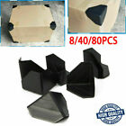 Black Plastic Corner Protectors To Protect Valuable Furniture For Shipping Box