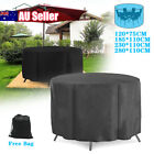 Large Round Waterproof Outdoor Garden Patio Table Chair Set Furniture Cover Au
