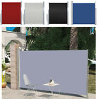 Retractable Side Awning Outdoor Privacy Sunshade Wind Screen Garden Fence Mini