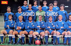 PORTSMOUTH FC AUTOGRAPHS FROM LATE 1970-90's SIGNED WHITE CARDS