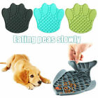 Anxiety Relief Cat Dispensing Mat Feeding Lick Pad Slow Feeder Dog Bowls