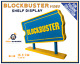 Display BLOCKBUSTER VIDEO Shelf Decoration for Cinema Movie Ad Collection