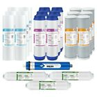 5 Stage Whole House Reverse Osmosis System 24 GPD RO Water Filter 1/2/3 Year Set
