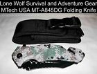"""MTech USA MT-A845DG Digital Camo Spring Assisted Knife 9"""" Overall 3.75"""" SS Blade"""