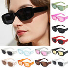 Women Vintage Oval Shades Sunglasses UV400 Spectacles Frame PC Fashion Goggles