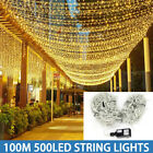 10M-100M+LED+Fairy+String+Lights+Plug+In+Waterproof+Outdoor+Christmas+Party+Lamp