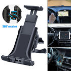 """Universal Adjustable Tablet Mount Car Air Vent Holder For 4-12"""" iPad Galaxy Tab"""