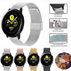 Buckle Milan Bracelet Band 20mm pour Samsung Galaxy Watch 42 Active 40 44 mm