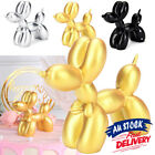 Small Balloon Dog Decor Ornament Home Kids Room Sculpture Gift Resin Crafts Cute