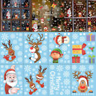 1pc Merry Christmas Window Glass Wall Stickers For Home Christmas Decoration