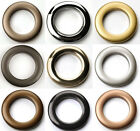 36 Rufflette Eyelet Curtain Rings CHOICE OF 10 COLOURS