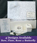 PERSONALISED 25th Silver Anniversary Keepsake Box + Extras A16