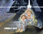 Movie Poster Print - Family Guy Star Wars  (A3 / A4)