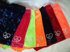 NEW GIRLS STRETCH  VELVET SHORTS w crystals gymnastics dance ALL SIZES /COLORS