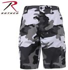 Combat BDU Cargo Shorts Camouflage Camo Military Army