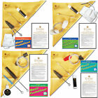 Clarinet~Flute~Trumpet~Saxophone Cleaning Care Kit+Book
