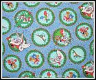 WARNER BROS LOONEY TOONS BUGS BUNNY CHRISTMAS FABRIC