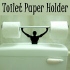 Designer Strong Man Weightlifter Toilet Paper Tissue Roll Holder Novelty Present