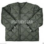 US ARMY MILITARY  M65 FIELD JACKET COAT LINER NEW M-65 quilted od green S,M,L,XL
