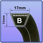 V BELT SIZES B56 - B85 17MM X 11MM  FREE UK NEXT DAY DELIVERY