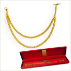 double albert chain gold