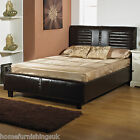 LUXURY Kingston 6ft Super Kingsize HAND MADE FAUX LEATHER BED FRAME FreeNextDay