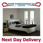 """LUXURY Michaela 4ft 6"""" Double HAND MADE FAUX LEATHER BED FRAME Free Next Day"""
