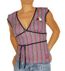 Vive Maria Pussy Deluxe Sunny Afternoon Multicoloured Striped Shirt - NEW