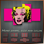 Andy Warhol Pop Art Marilyn Monroe Artist Printing Canvas Box Ready To Hang More