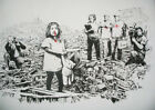 Poster Print: Banksy: Girl and Teddy Bear *DISCOUNTED OFFERS* A3 / A4