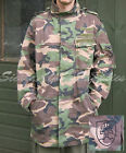 SLOVAKIAN ARMY SURPLUS G1 M97 WOODLAND CAMO COLD WEATHER PARKA,JACKET,SMOCK,DPM