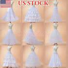 9 Styles Tiered Hoop Bridal Petticoat Crinoline Slips Wedding Dress Underskirts