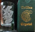GL's: Scottish Collins Crystal Clan Shotglasses A to D