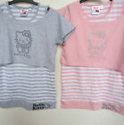 Hello Kitty Tops - 2 In a pack - 1 Vest & 1 Crop top! Grey or Pink