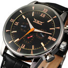 NEW Men Automatic 6 Hands Mechanical Analog Classic Wrist Watch