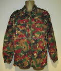 SWISS ARMY SURPLUS ISSUE GRADE 1 ALPENFLAGE,SMOCK,6 COLOUR SUMMER COMBAT JACKET