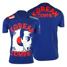 Traumma MMA Korean Zombie TKZ Walkout T-Shirt (Blue) - ufc chan sung jung