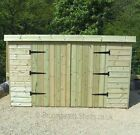 16mm Tanalised Timber wooden Bike store Shed length & Width options Height 5-5'6